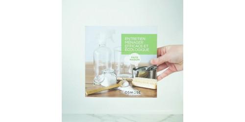 Livre «entretien ménager efficace et écologique» par Osmose